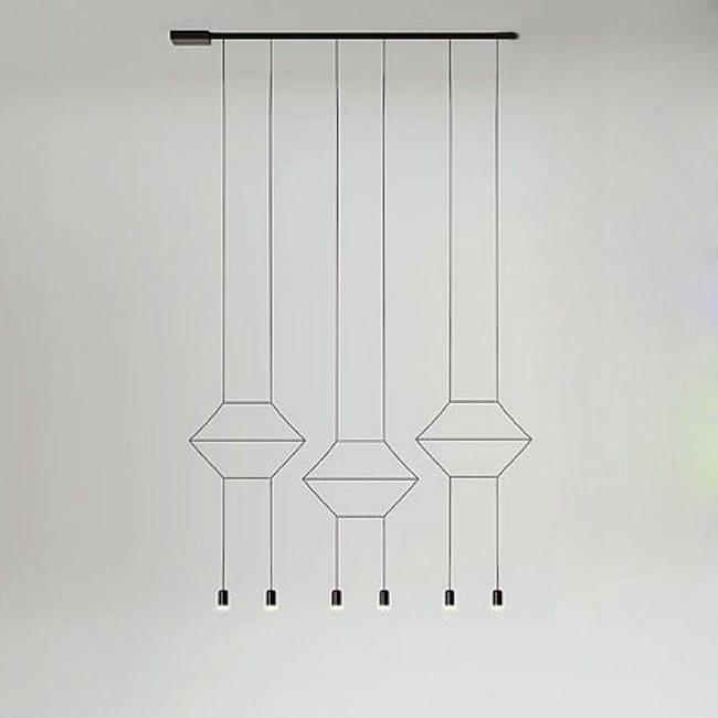 [Vibia/비비아] Wireflow Lineal 0325 Black