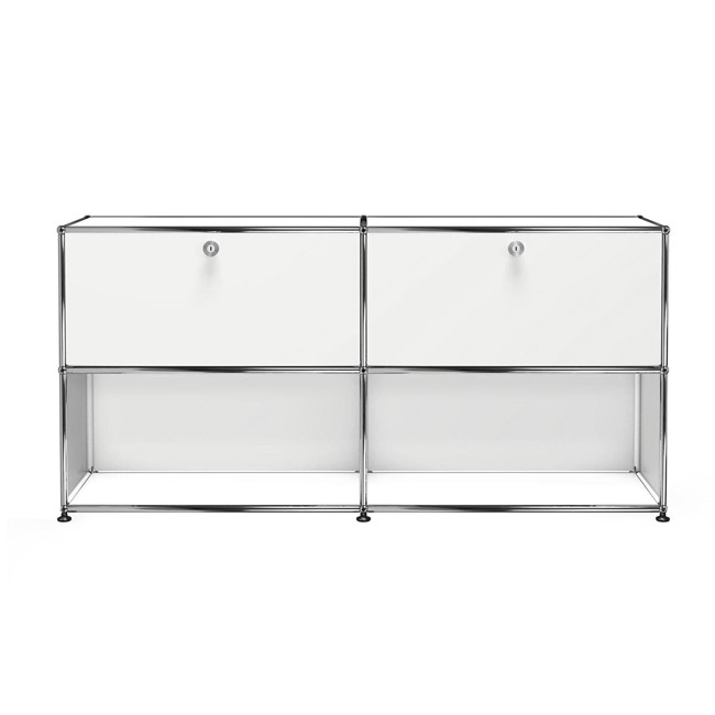[USM Haller] Sideboard With 2 Falling Boards Above