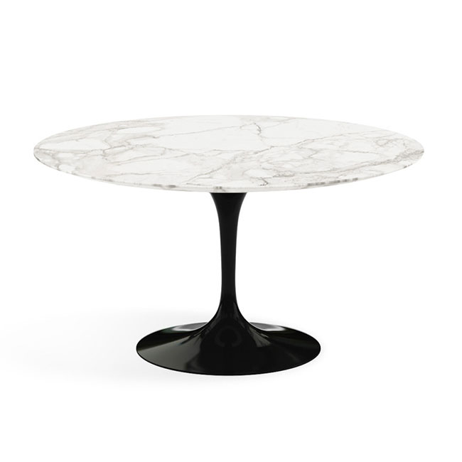 [Knoll International/놀 인터네셔널] Saarinen Dining Table, Ø 137, Black Base