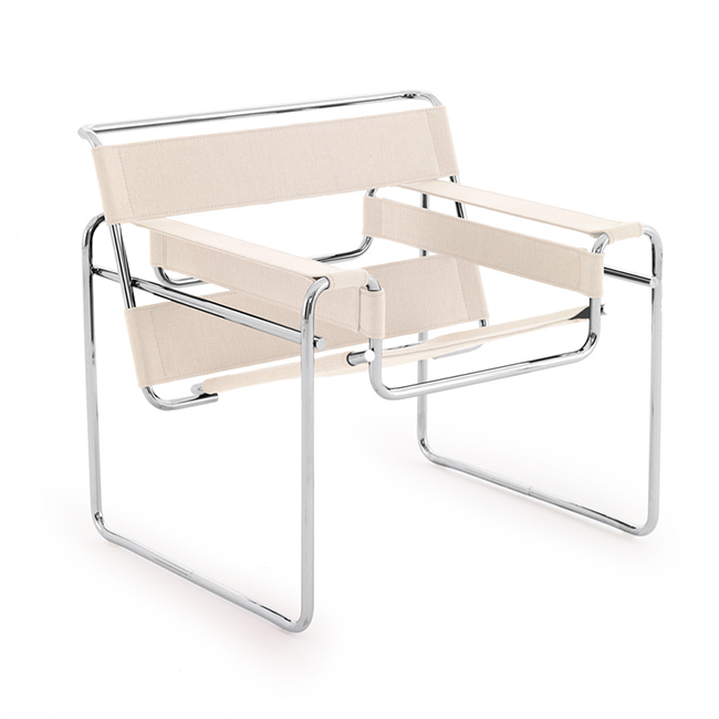 [Knoll International/놀 인터네셔널] Wassily Chair - Canvas Seat